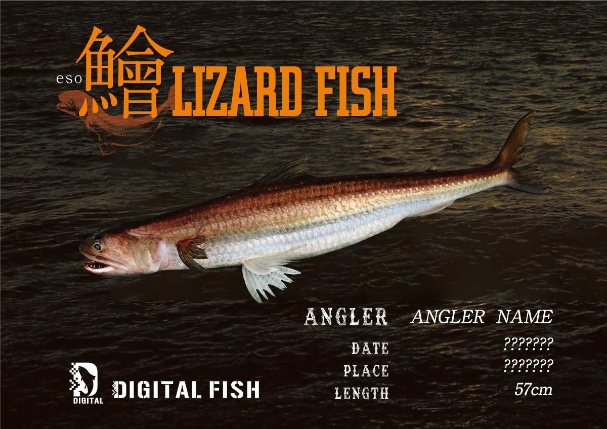 デジタル魚拓 エソ
